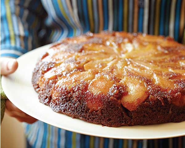 Pear Skillet Cake