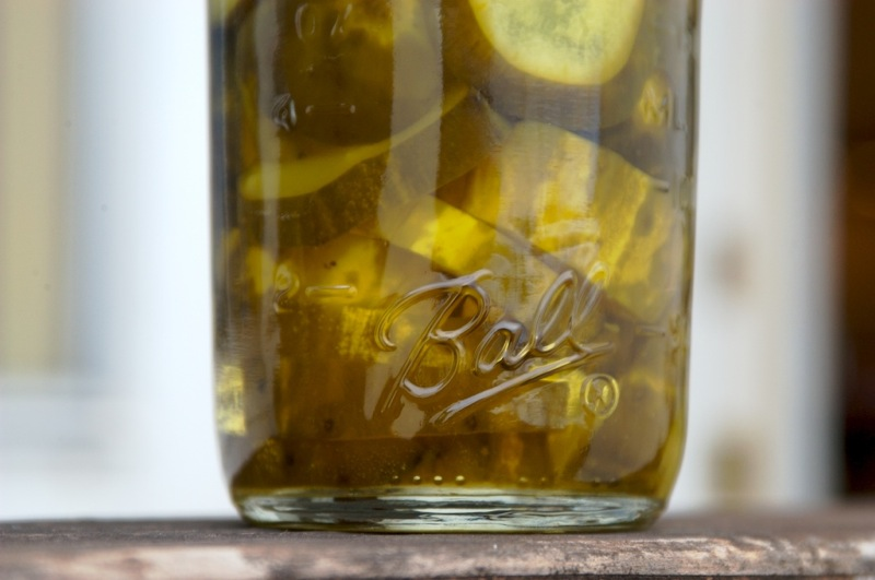 Jane's (sorta) Homemade Sweet Pickles